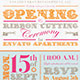 Ribbon Cutting Flyer Invite Template - GraphicRiver Item for Sale