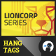 Lioncorp Series - Hang Tags - GraphicRiver Item for Sale