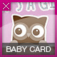 Cute Baby/BabyShower Card - GraphicRiver Item for Sale