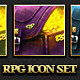 RPG User interface Icon Set - GraphicRiver Item for Sale