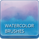 32 Watercolor Artistic Brushes  - GraphicRiver Item for Sale