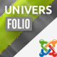 Universfolio - Multipurpose Joomla Template - ThemeForest Item for Sale