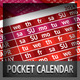 Pocket Calendar 2014 - 2013 - 2015 Set / New Kooky - GraphicRiver Item for Sale