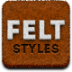 Felt Style Building Kit - GraphicRiver Item for Sale