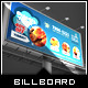 Yummy Tasting - Restaurant Billboard Template - GraphicRiver Item for Sale
