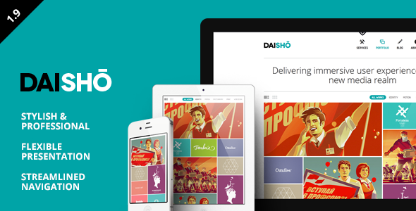 Daisho WordPress Theme