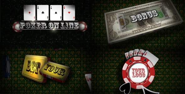 After Effects Project - VideoHive Online poker 557237