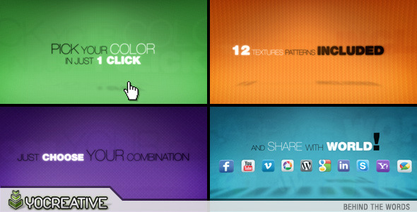 After Effects Project - VideoHive Behind the Words 563238