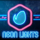 Neon Lights Badges - VideoHive Item for Sale