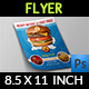 Burger Restaurant Flyer Vol.3 - GraphicRiver Item for Sale