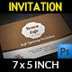Cafe Invitation Card - GraphicRiver Item for Sale