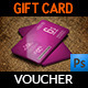 Gift  Voucher Card Vol 6 - GraphicRiver Item for Sale
