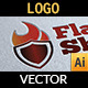 Flame Shield Logo - GraphicRiver Item for Sale