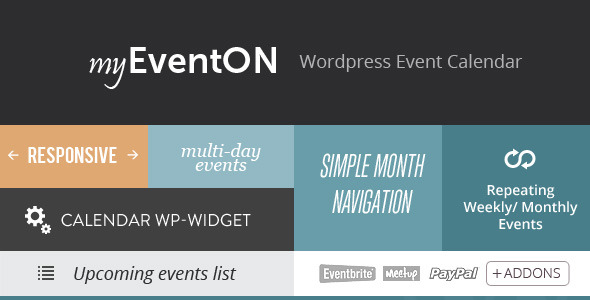Eventon 2. 6. 11 (activated) – wordpress event calendar plugin.