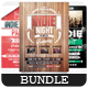 Indie Night - Flyers Bundle [Vol.2] - GraphicRiver Item for Sale