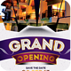 Grand Opening Event Flyer V1 - GraphicRiver Item for Sale
