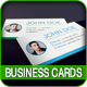 4 Colorful Textured Business Cards - GraphicRiver Item for Sale