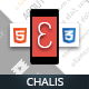 Chalis Mobile Retina | HTML5 & CSS3 And iWebApp - ThemeForest Item for Sale