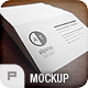 9 Photo Realistic / Business Card Mock-Ups - GraphicRiver Item for Sale