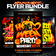 Halloween Flyer Template Bundle - GraphicRiver Item for Sale