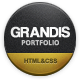 Grandis - Responsive Multi-Purpose HTML Template - ThemeForest Item for Sale