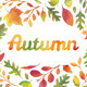 3 Autumn Leaves Wreaths - GraphicRiver Item for Sale