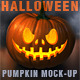 Halloween Pumpkin Mockup - GraphicRiver Item for Sale