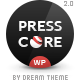 PressCore: responsive multipurpose WordPress theme - ThemeForest Item for Sale