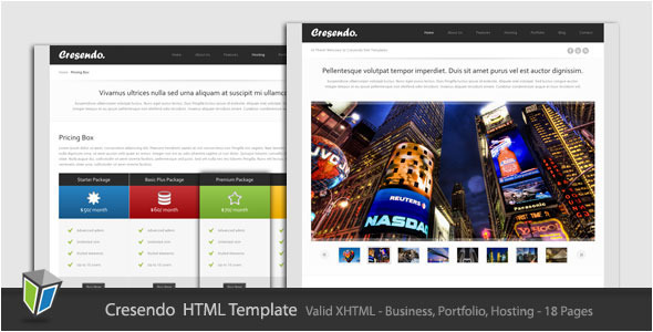 ThemeForest - Cresendo - Business and Portfolio HTML Template - RiP
