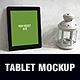 Country Style Tablet Mockup - GraphicRiver Item for Sale