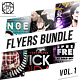Kontrastt Flyer Bundle Vol.1 - GraphicRiver Item for Sale
