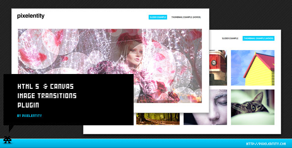 Codecanyon - HTML5 Image Transitions Jquery Plugin - RIP