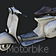 Low Poly Motorbike - 3DOcean Item for Sale