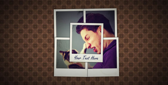 After Effects Project - VideoHive 20 Retro Photos 571919