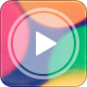 Blurry Video Player - GraphicRiver Item for Sale