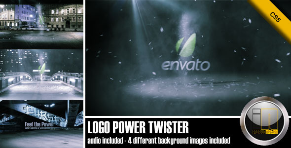 After Effects Project - VideoHive Logo Power Twister 556453