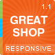 Great Shop Responsive Magento Theme - ThemeForest Item for Sale