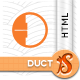 Duct - Fresh Responsive Coming Soon HTML - ThemeForest Item for Sale