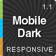 MobileDark Responsive Magento Theme - ThemeForest Item for Sale