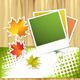 Autumn Colorful Leaves and Photos - GraphicRiver Item for Sale