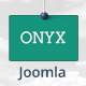 Onyx-Single Page Responsive Joomla Template - ThemeForest Item for Sale