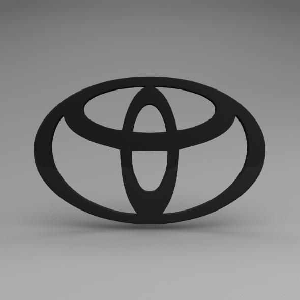 3DOcean Toyota Logo 5582251