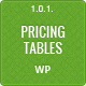Responsive CSS3 Pricing Tables for WordPress - CodeCanyon Item for Sale
