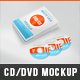 Realistic DVD/CD Mockup White Case & Disks  - GraphicRiver Item for Sale