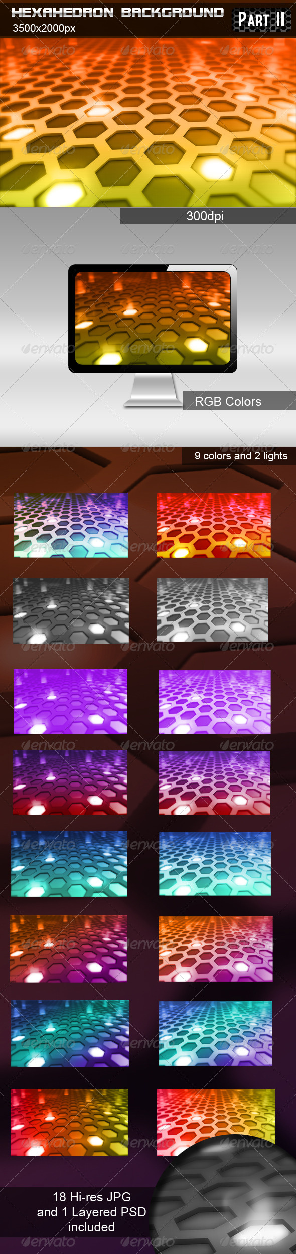 GraphicRiver Hexahedron Background part 2 574840