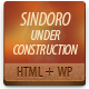 Sindoro Under Construction - ThemeForest Item for Sale