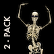 Funny Skeleton - Belly Dance - Pack of 2 - VideoHive Item for Sale