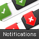 Corporate Clean Notifications For Your Web Site  - GraphicRiver Item for Sale