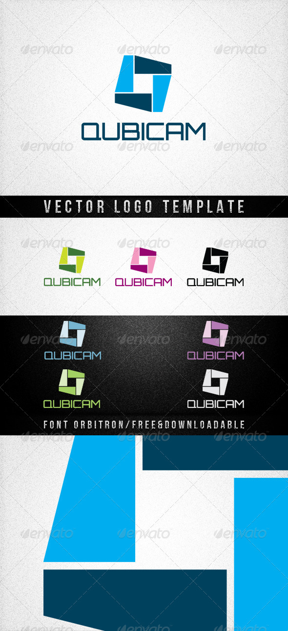 Graphic River QUBICAM Logo Templates -  Abstract  Vector 577059