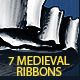 7 Hand Drawn Medieval Ribbons - GraphicRiver Item for Sale